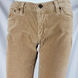Ag Adriano Goldschmied Pants - AG Corduroy Slim Boot Pants 28R